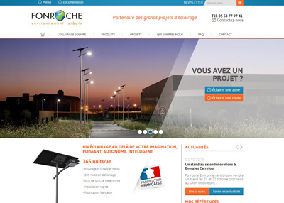 site web fonroche